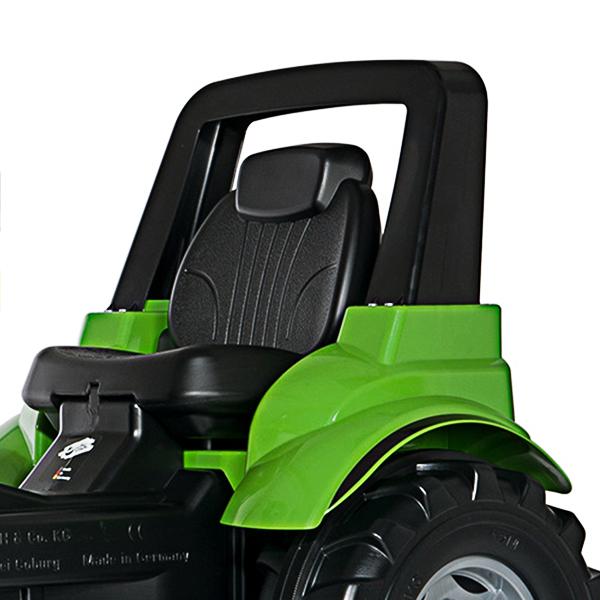 tractor de pedales arco de seguridad
