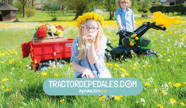 tractor de pedales by ruraltoys