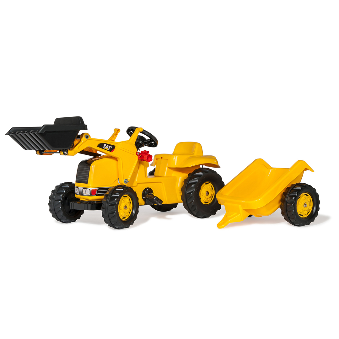 Tractor de Pedales rollyKid CAT