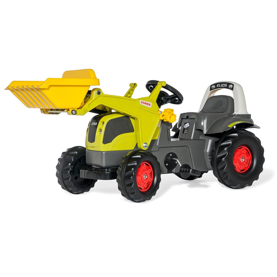 Tractor de Pedales rollyKid Claas Elios