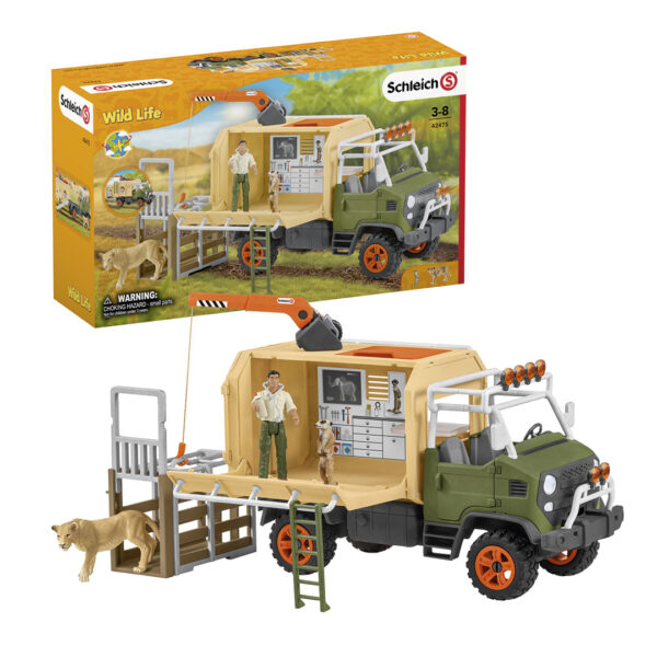 Camión de salvamento de animales grande - 1