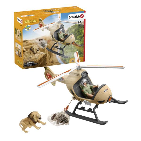 Helicóptero de salvamento de animales - 1