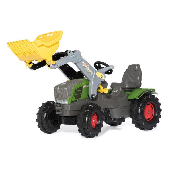 Tractor de Pedales rollyFarmtrac Fendt 211 Vario con pala