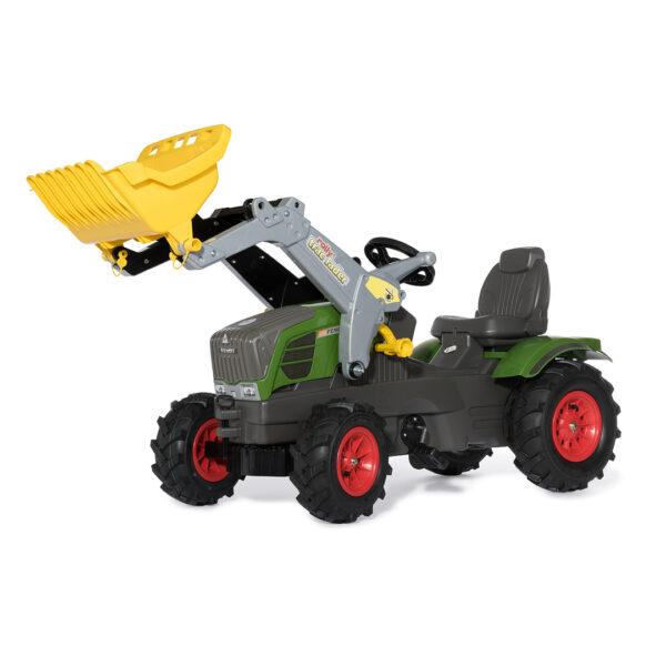 Tractor de Pedales rollyFarmtrac Fendt 211 Vario con pala y ruedas neumáticas