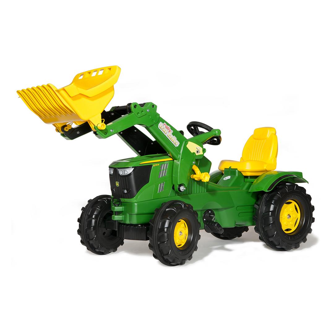 Tractor de Pedales rollyFarmtrac John Deere 6210R con pala