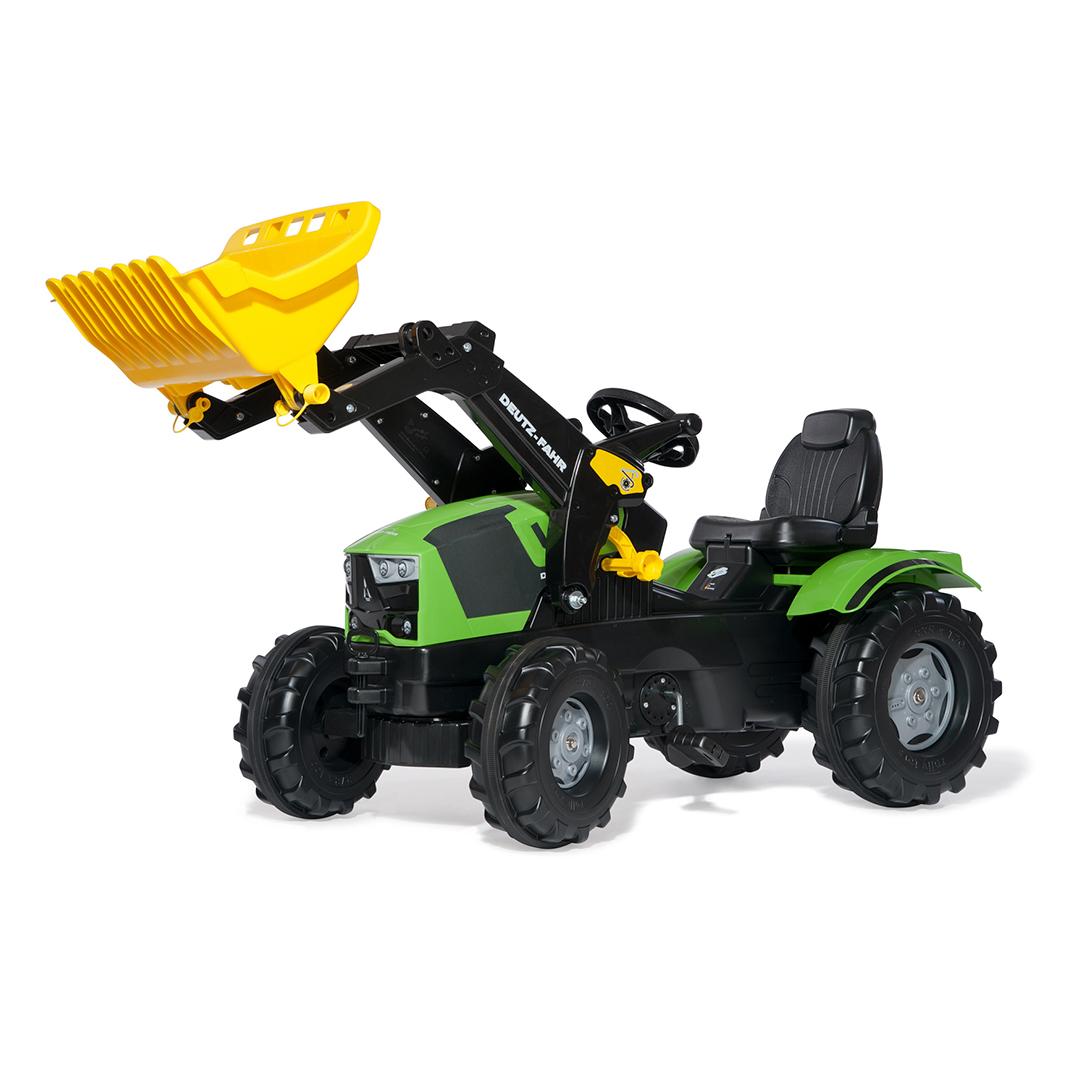 Tractor de Pedales rollyFarmtrac Deutz-Fahr 5120 con pala
