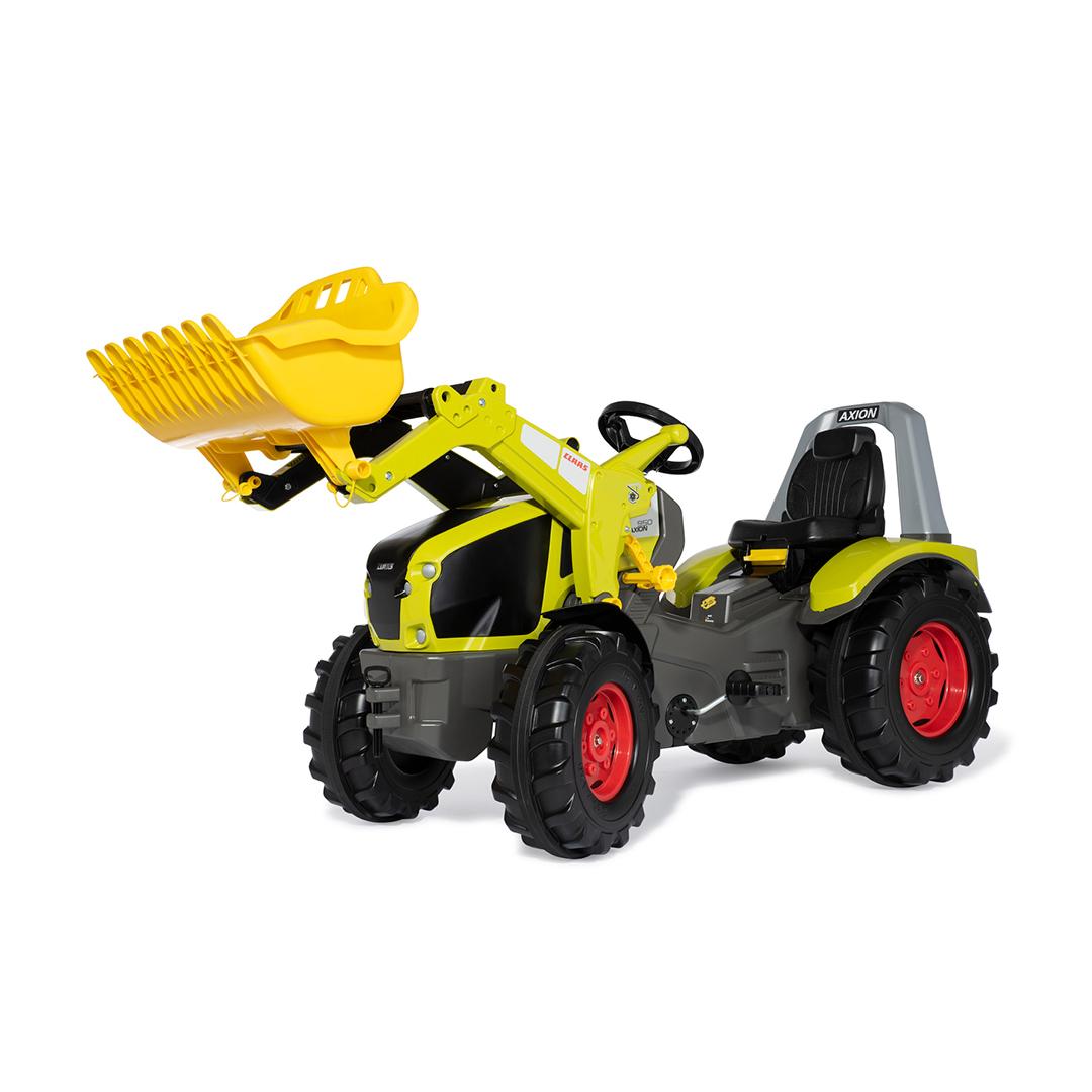 Tractor de Pedales rollyX-Trac Claas Axion 940 con pala