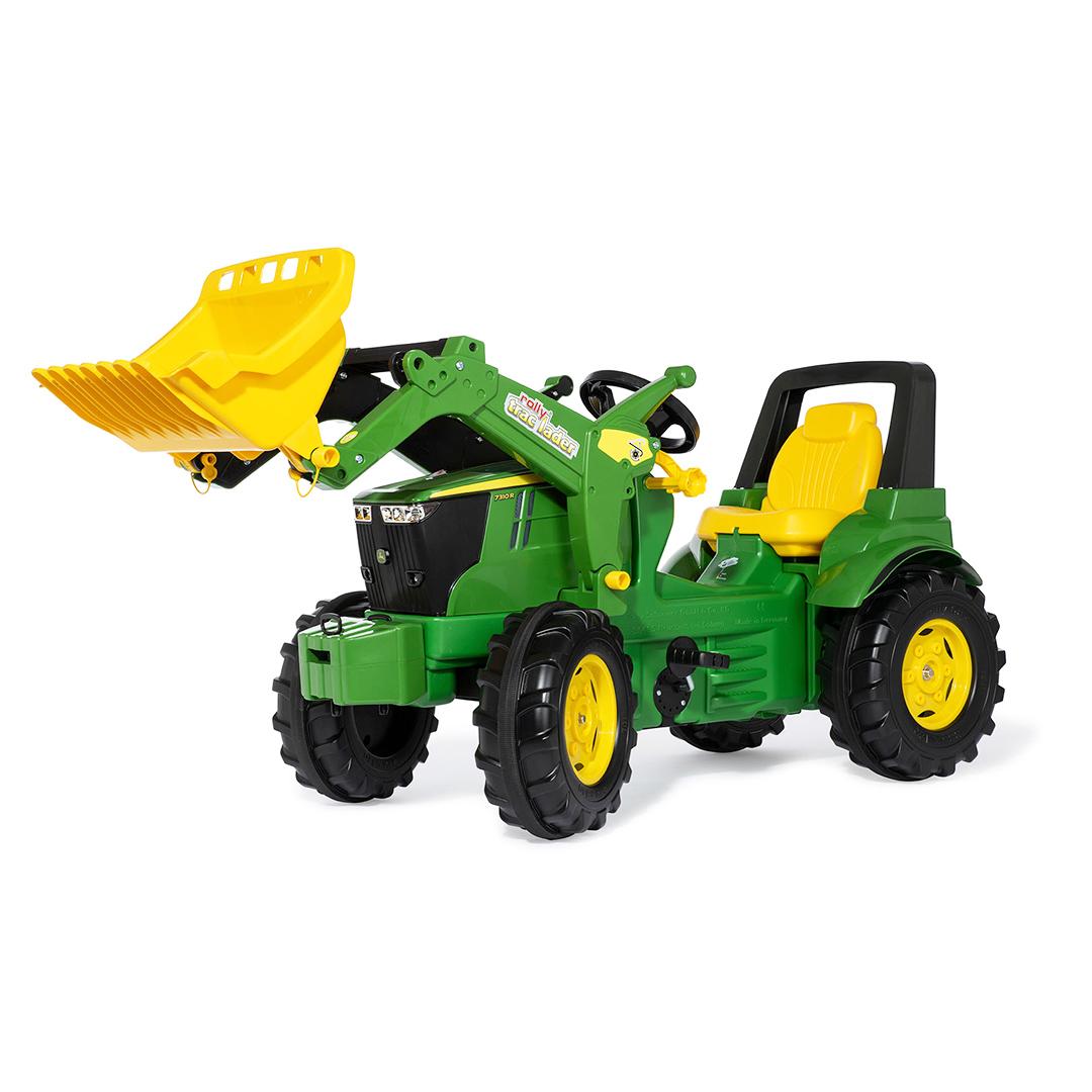 Tractor de pedales John Deere 7310R con Pala