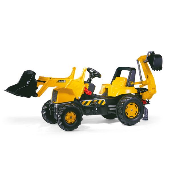 Tractor de Pedales rollyJunior JCB con pala y excavadora