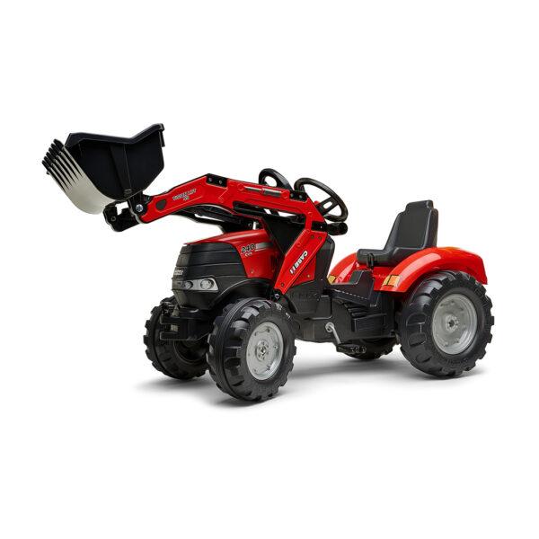 Tractor de pedales Case IH Puma 240CVX con pala