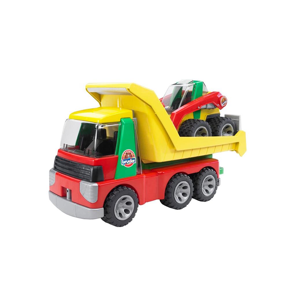 ROADMAX Camión con miniexcavadora