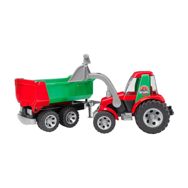 ROADMAX Tractor con pala frontal y remolque