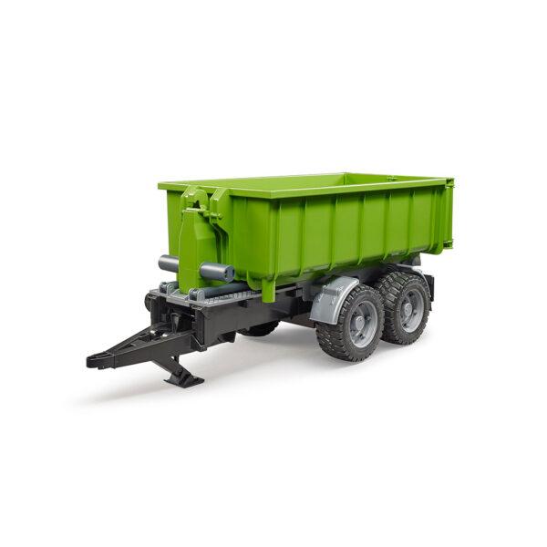 Remolque container descargable - Ref. Bruder 2035