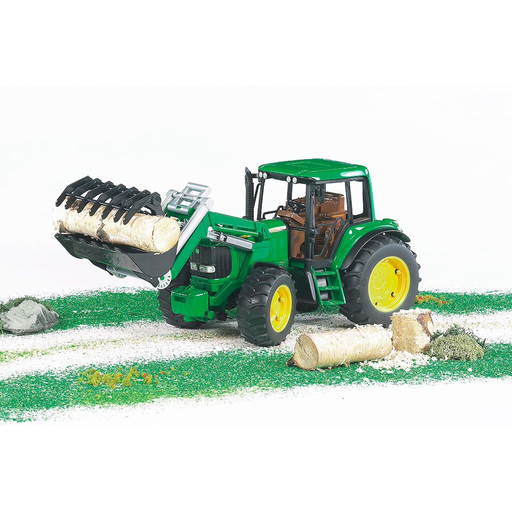 Tractor John Deere 6920 con pala frontal - Ref. Bruder 2052 - 1