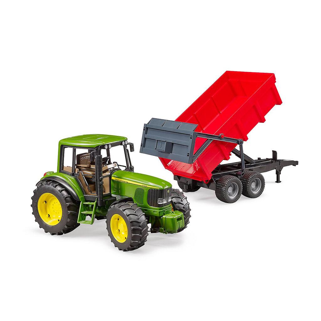 Tractor John Deere 6920 con remolque volquete - Ref. Bruder 2057 - 1