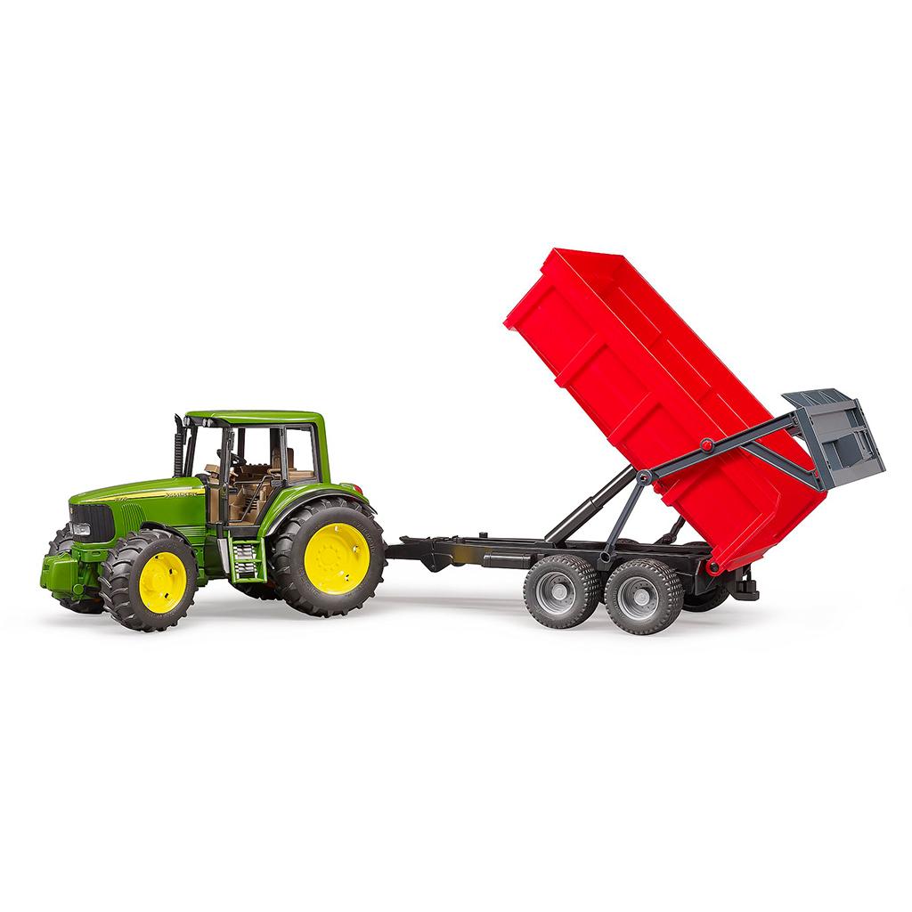 Tractor John Deere 6920 con remolque volquete - Ref. Bruder 2057