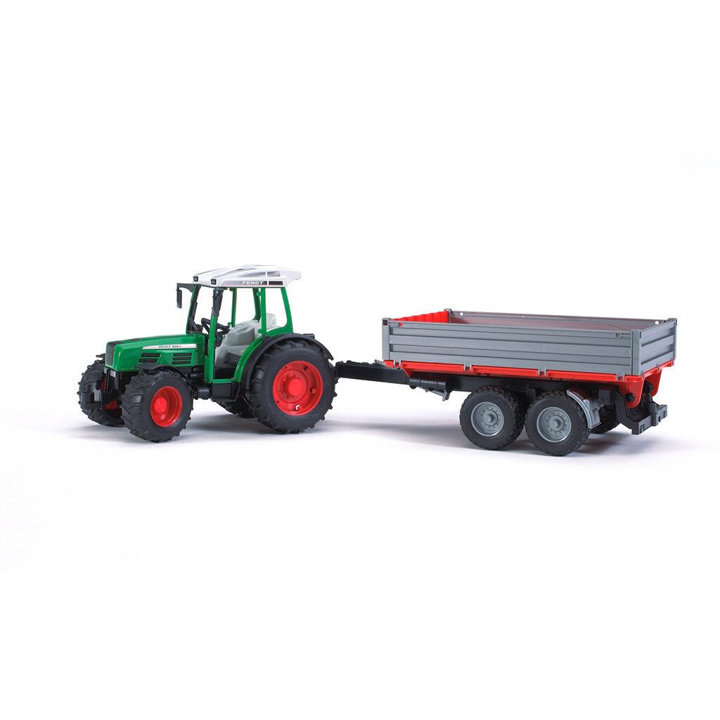 Tractor Fendt 209 S con remolque - Ref. Bruder 2104