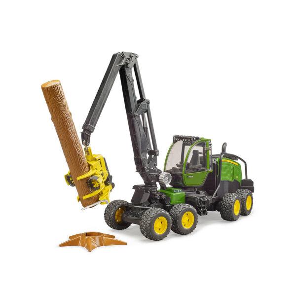Procesador Forestal John Deere Harvester 1270 G - Ref. Bruder 2135 - 1
