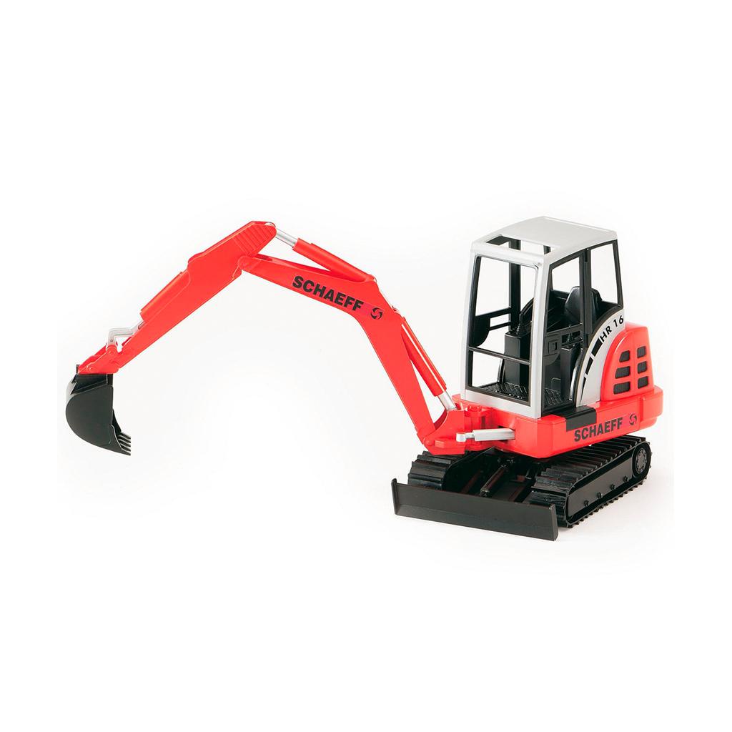 Mini Excavadora Schäffer - Ref. Bruder 2432