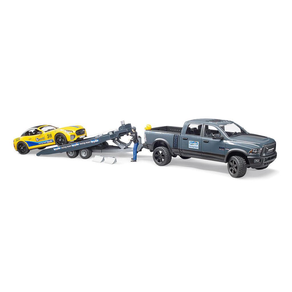 Todoterreno RAM 2500 P Wagon con BRUDER Roadster Racing Team - Ref. Bruder 2504