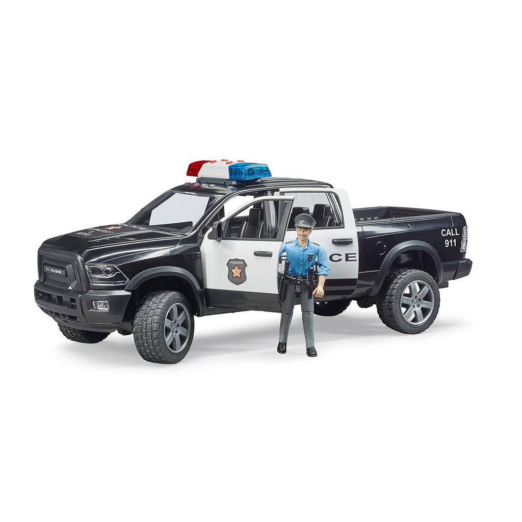 Todoterreno RAM 2500 policía - Ref. Bruder 2505