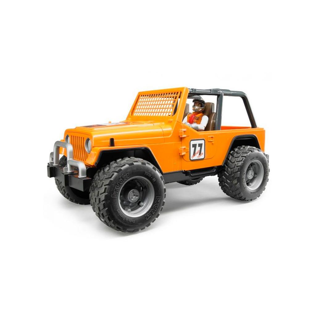 Jeep Cross Country Racer naranja con piloto - Ref. Bruder 2542