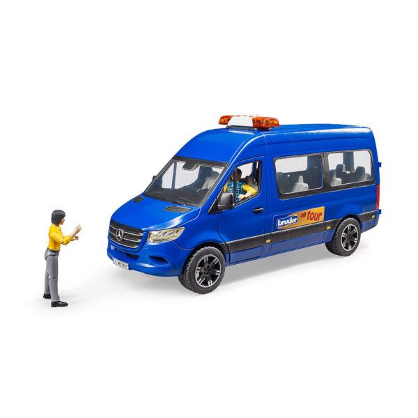 Microbús Mercedes Benz con Figuras Bruder BWorld – Ref. Bruder 2670 - 1