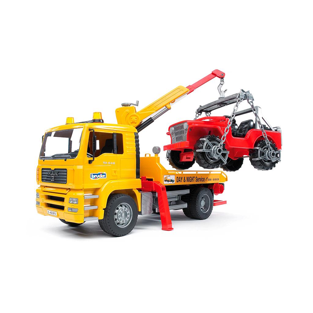 Camión de Asistencia MAN con Todoterreno – Ref. Bruder 2750 - 1
