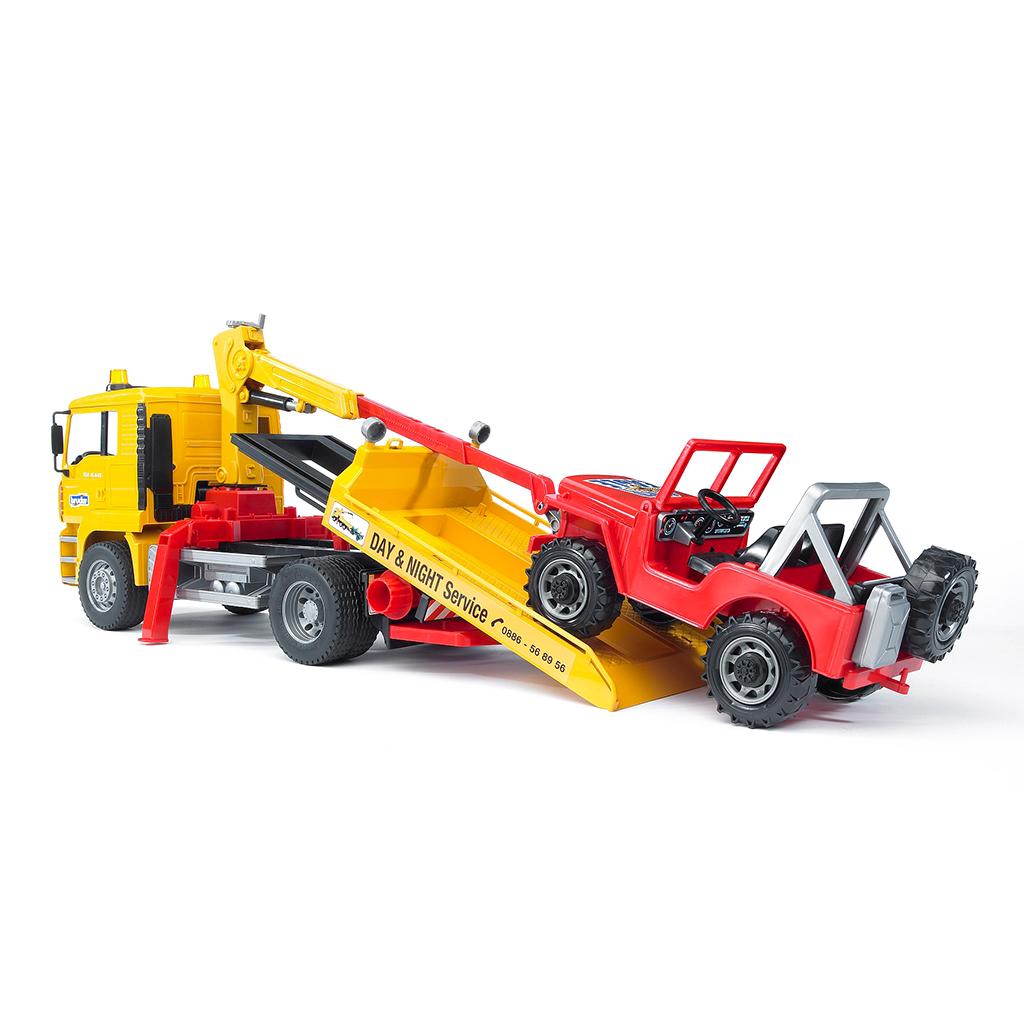 Camión de Asistencia MAN con Todoterreno – Ref. Bruder 2750