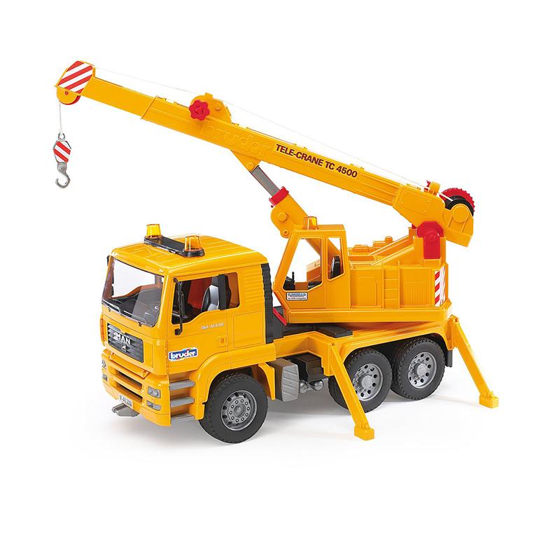 Camión Grúa MAN – Ref. Bruder 2754 - 1