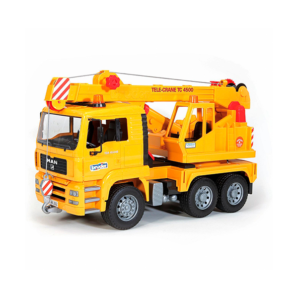 Camión Grúa MAN – Ref. Bruder 2754