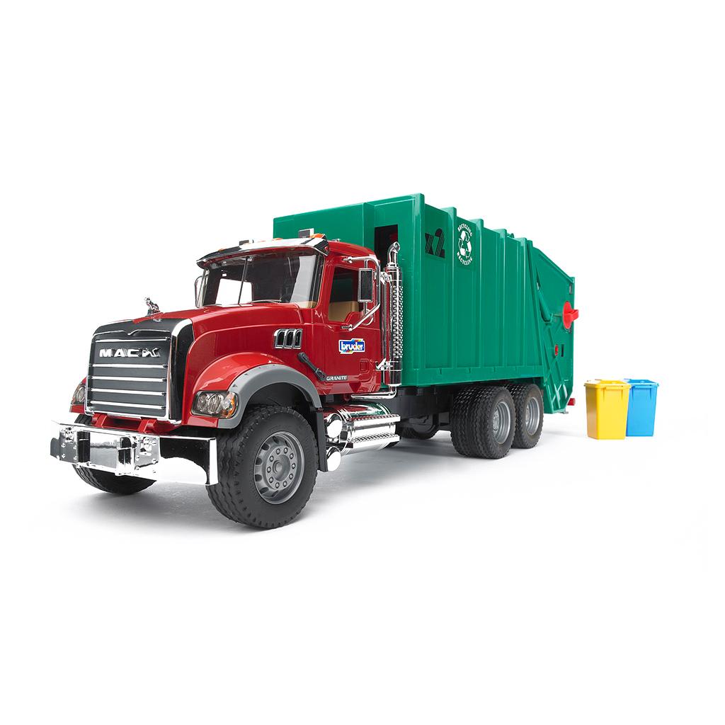 Camión de Basura Mack Granite – Ref. Bruder 2812 - 1