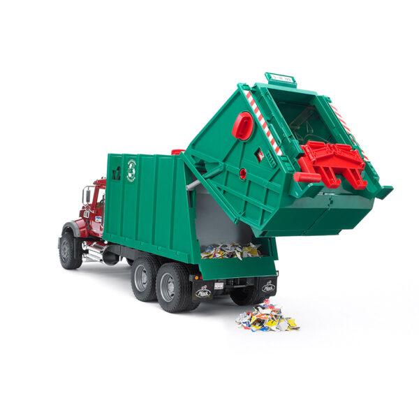 Camión de Basura Mack Granite – Ref. Bruder 2812
