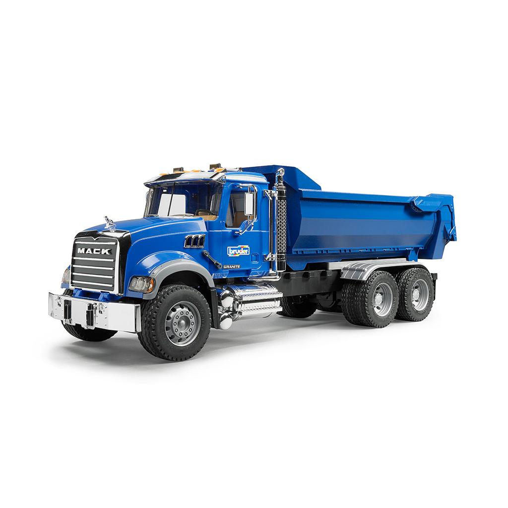 Camión Con Volquete Semi Basculante Mack – Ref. Bruder 2823
