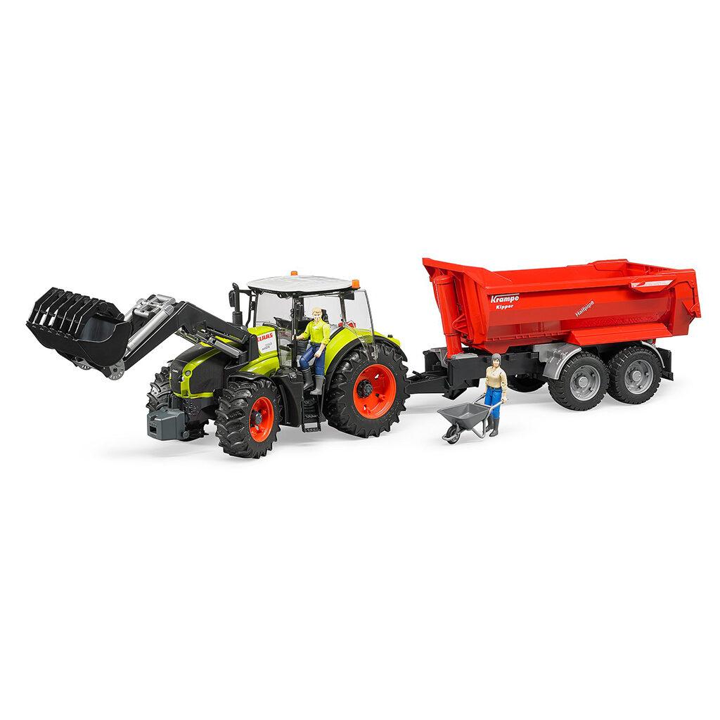 Tractor Claas Axion 950 con pala – Ref. Bruder 3013 - 1