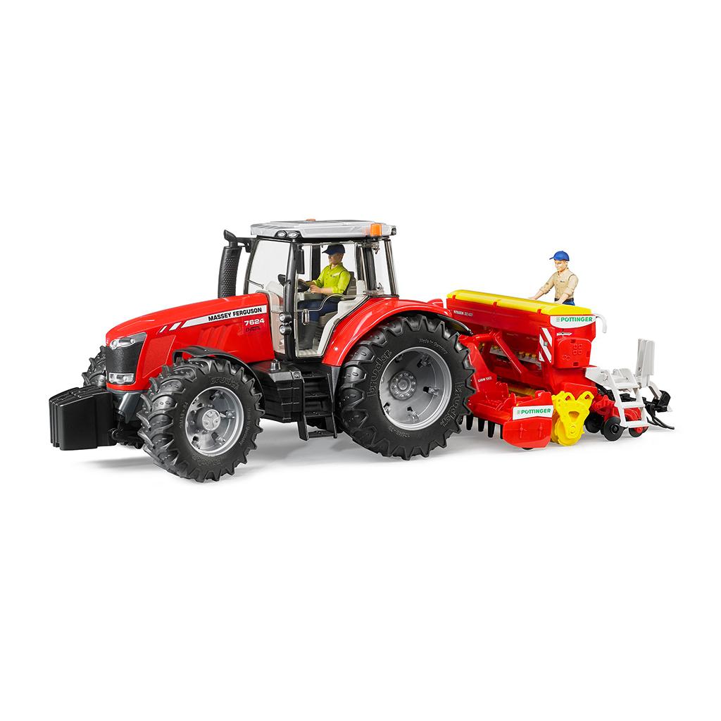 Tractor Massey Ferguson 7624 – Ref. Bruder 3046 - 1