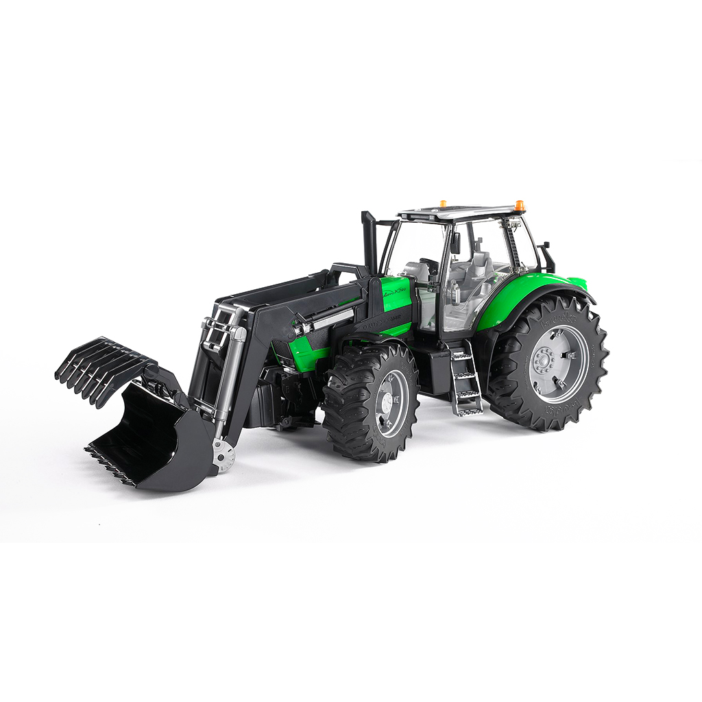 Tractor Deutz Agrotron X720 con pala frontal – Ref. Bruder 3081