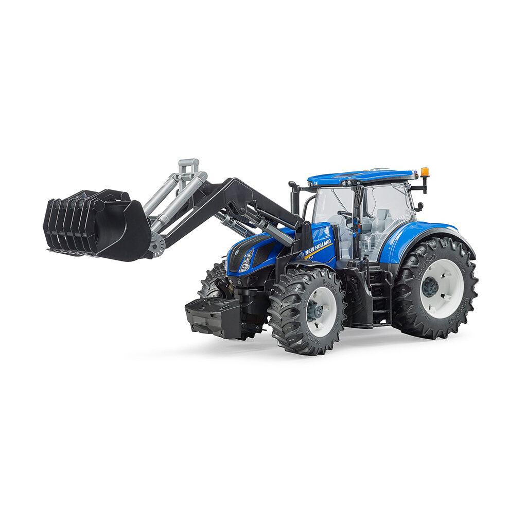 Tractor New Holland T7.315 con pala frontal – Ref. Bruder 3121