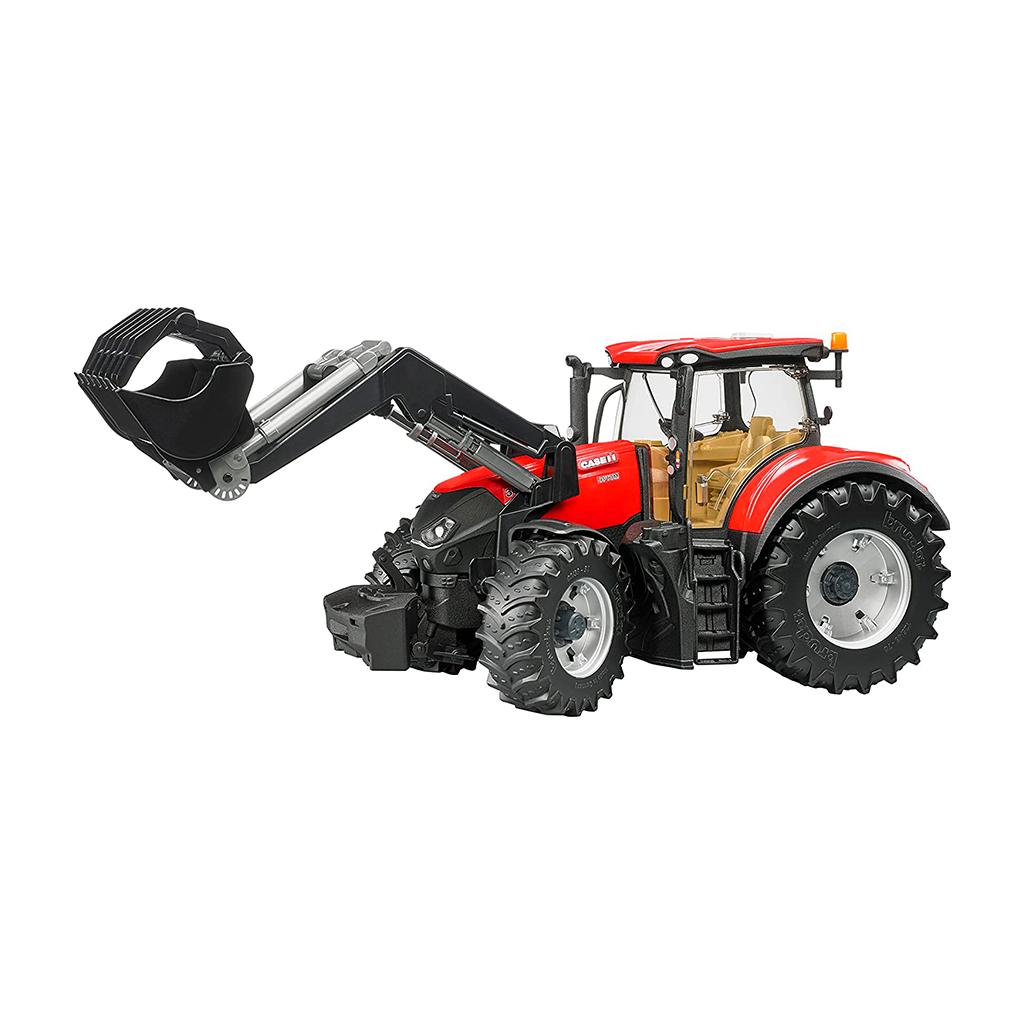 Tractor Case IH Optum 300 CVX con pala frontal – Ref. Bruder 3191