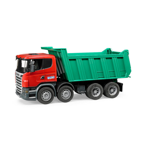 Camión Volquete Scania – Ref. Bruder 3550