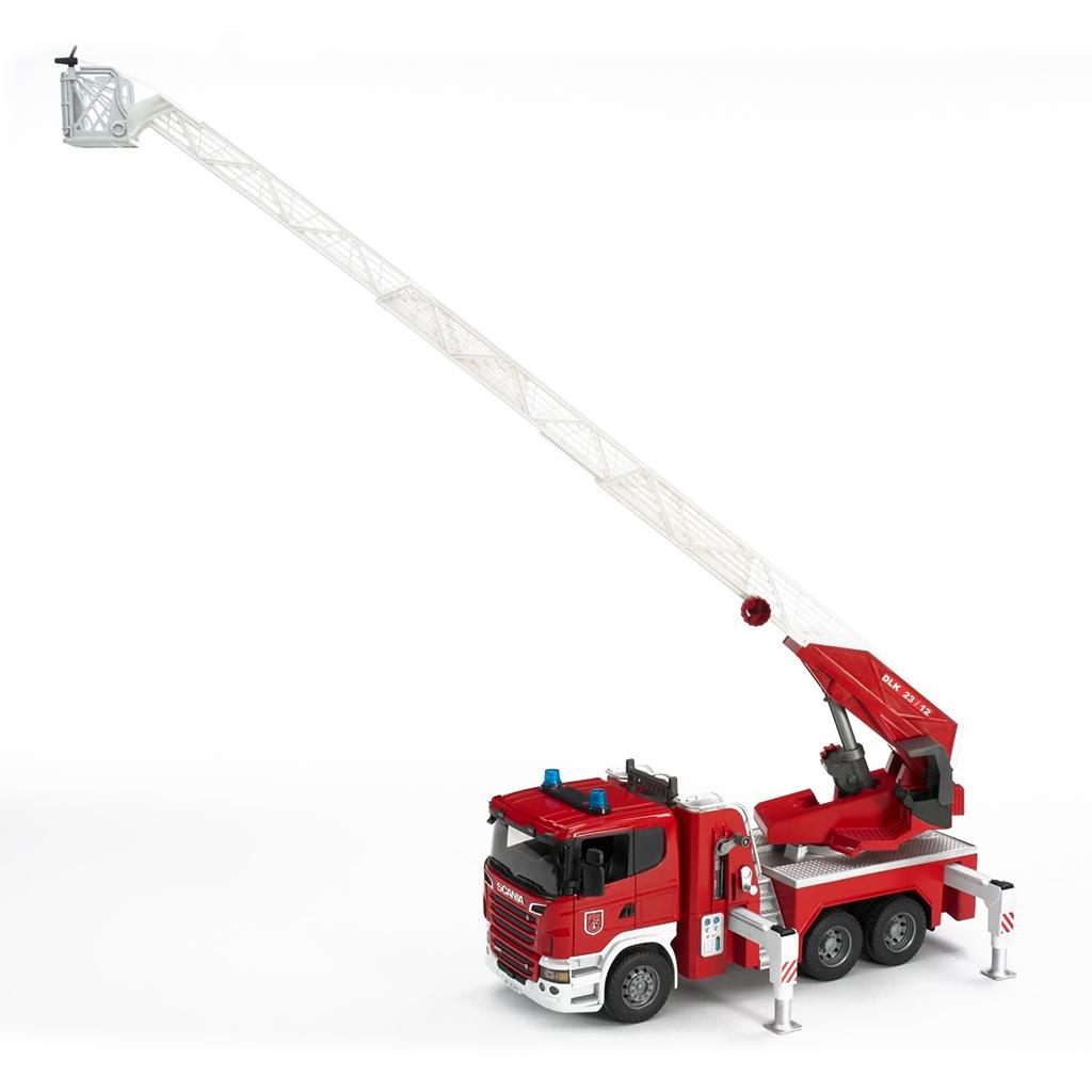 Camión de Bomberos Scania con escalera