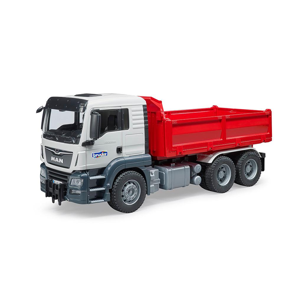 Camión MAN TGS Volquete Basculante – Ref. Bruder 3765