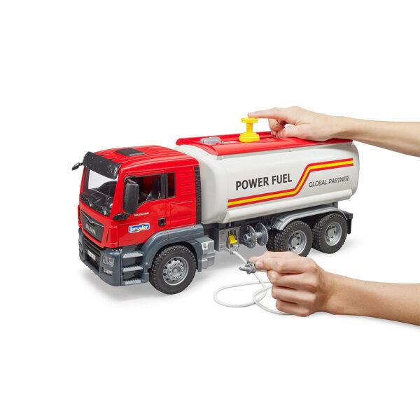 Camión Cisterna MAN TGS Gasoil – Ref. Bruder 3775