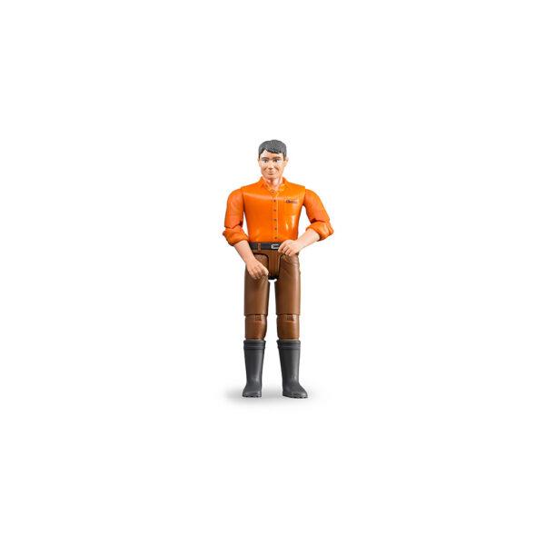 Figura de Granjero con Botas – Ref. Bruder 60007