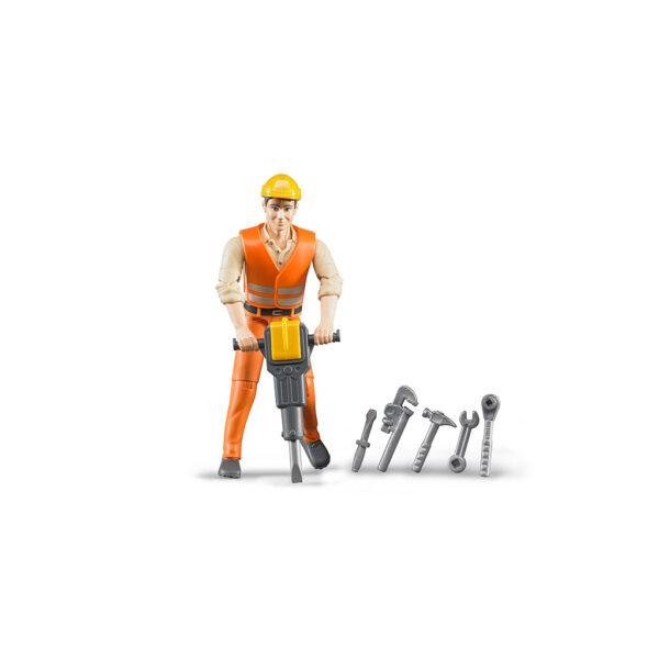 Trabajador de la Construcción con Accesorios – Ref. Bruder 60020