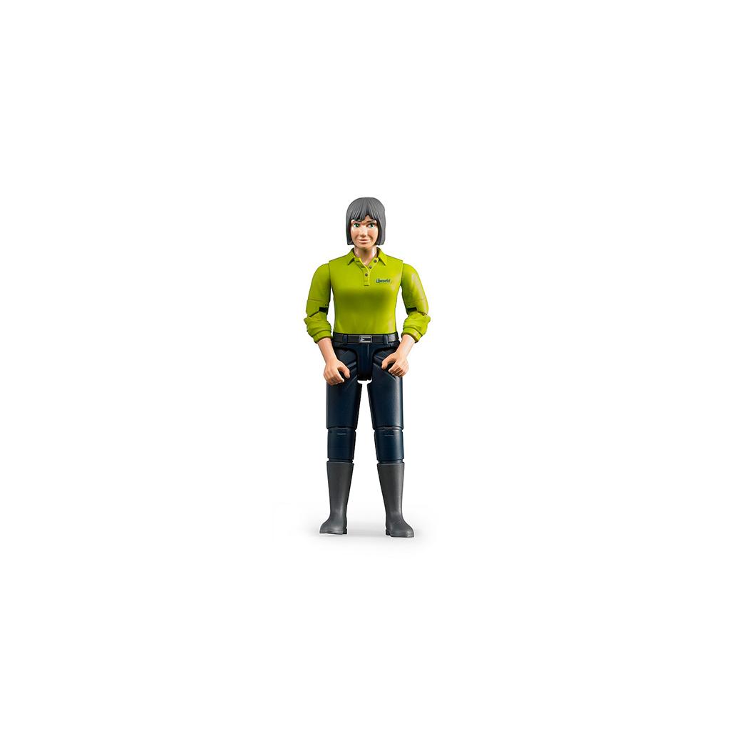 Figura de Granjera con Botas – Ref. Bruder 60405