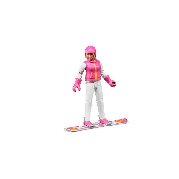 Esquiadora – Ref. Bruder 60420