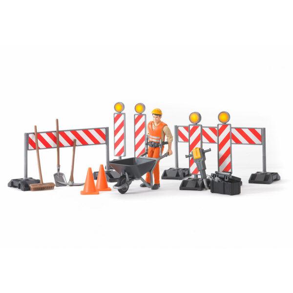 Set de Construcción con Figura – Ref. Bruder 62000