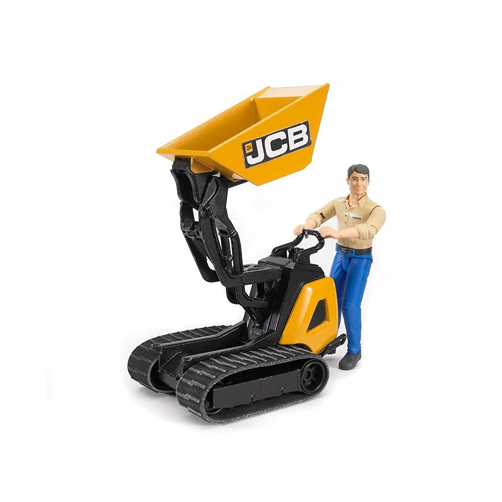 Dumper JCB HTD-5 con Figura – Ref. Bruder 62004
