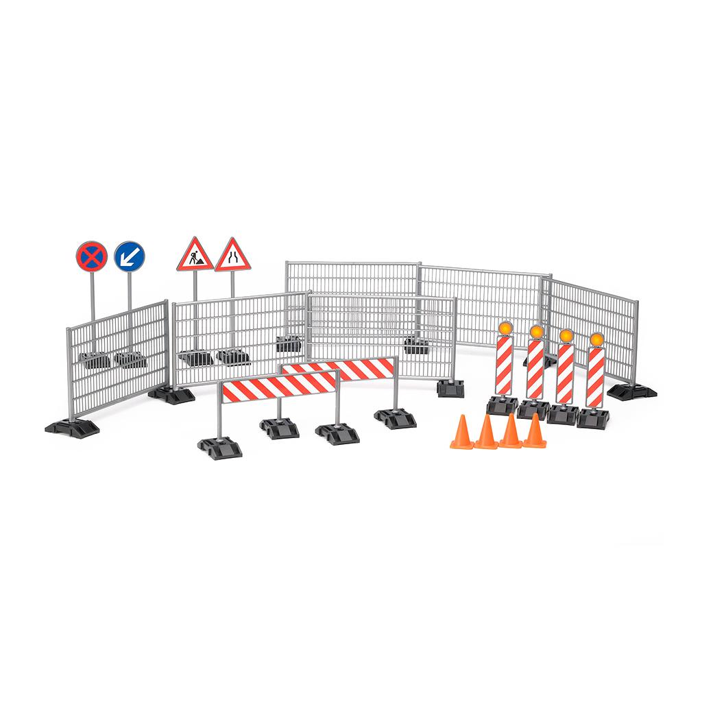 Set Señalización Obras en Carretera – Ref. Bruder 62007